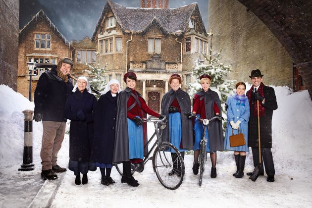 'Call The Midwife' Christmas Special: BBC Reveals First Look At Festive