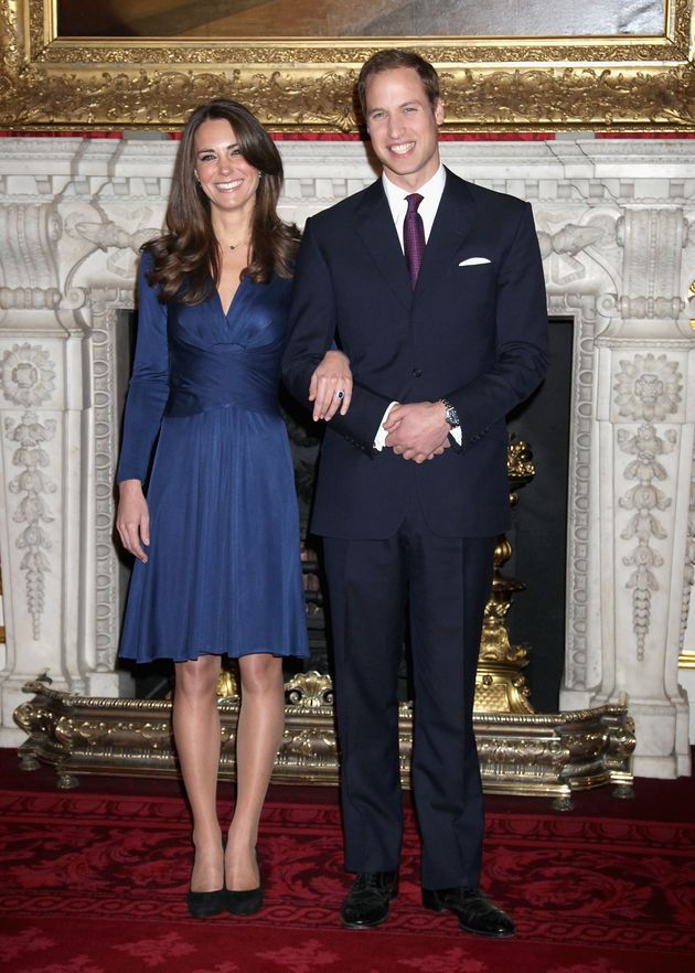 The 'Kate Middleton Engagement Dress' Is Currently On
