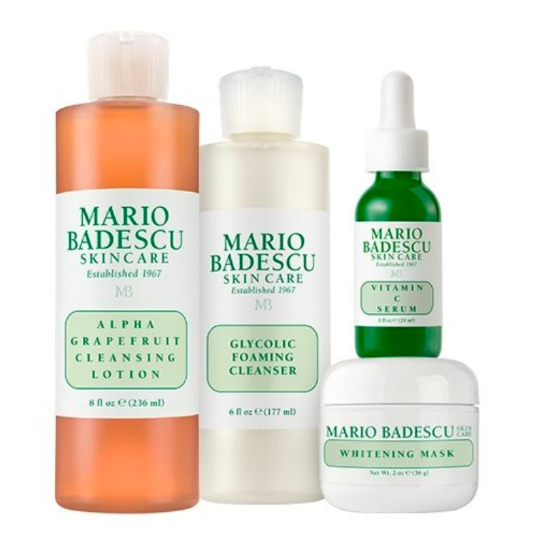 "<strong>The Brightening Kit</strong> from <a rel=""nofollow"" href=""https://www.mariobadescu.com/product/the_brightening_kit"" t"
