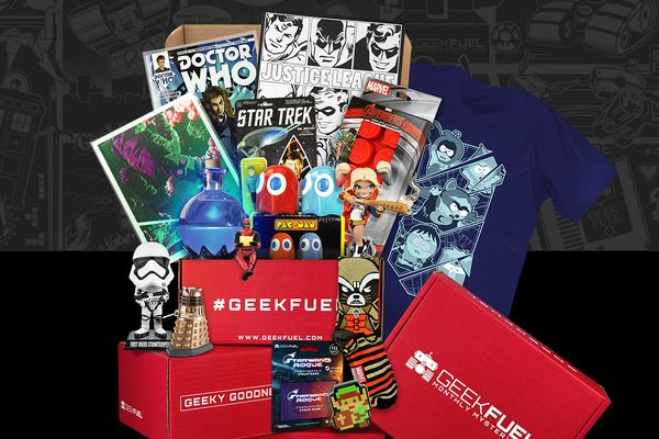 Starts at $25/month.Geek Fuel is devoted to designing an incredible experience, exploring and curating goods from all o