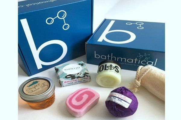 Starts at $35/month.Bathmatical delivers artisan bath and body products to your door. Subscribers will receive an assor