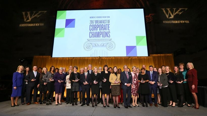40% Champions – companies approaching parity with 40% board seats held by women