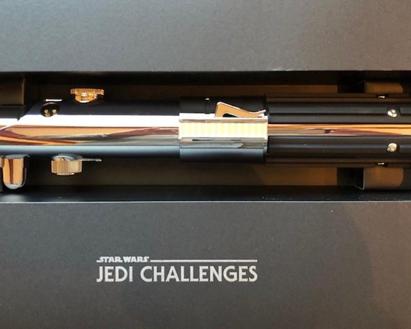 It all started with the idea of an AR light sabre in Mike Goslin's group at Disney advanced consumer products.