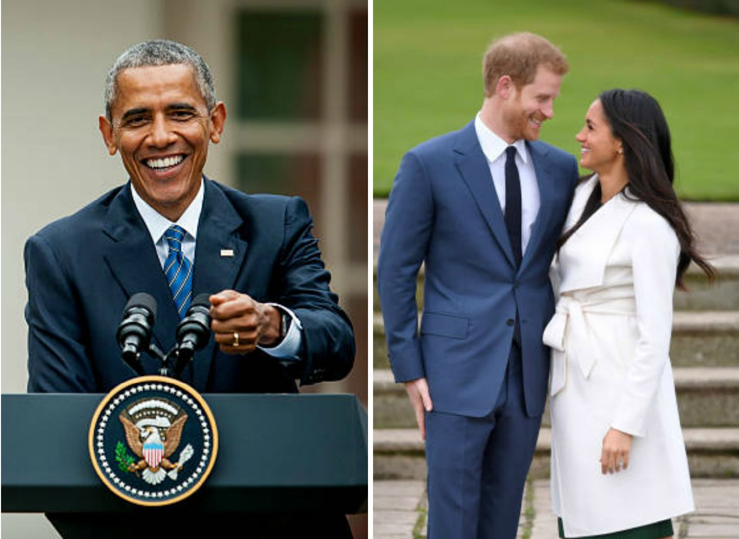 Barack Obama Congratulates Prince Harry And Meghan Markle On