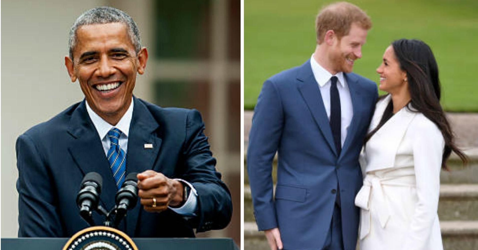 Barack Obama Congratulates Prince Harry And Meghan Markle On Engagement