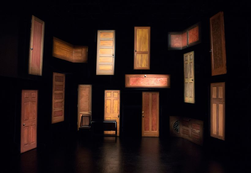 Kate Boyd's set design for <strong><em>Shelter</em></strong>
