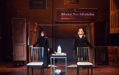 Amal (Atosa Babaoff) and Amy (Jessica Risco) discuss their difficult relationships in <em><strong>Make No Mistake</strong></e