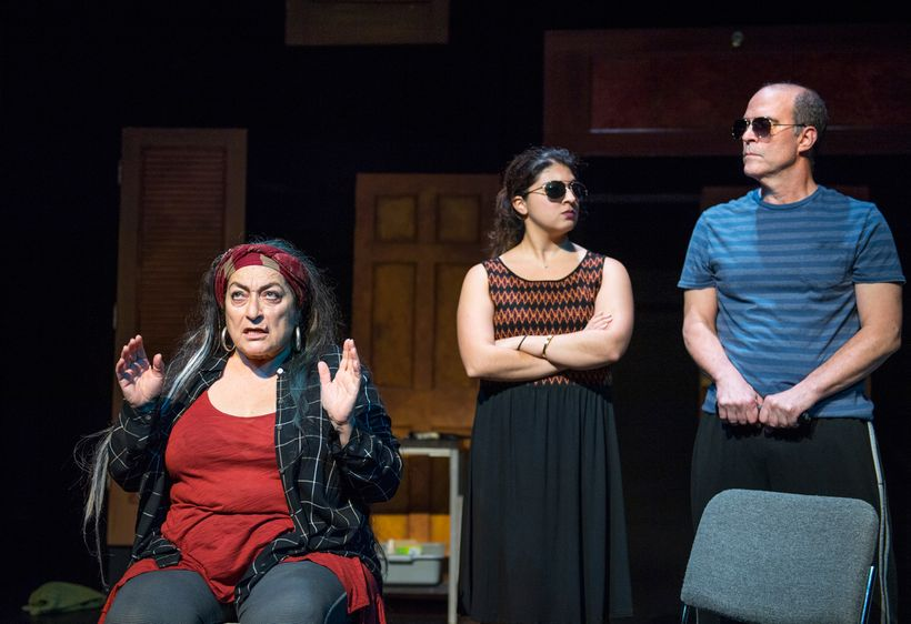 Bella Warda, Naseem Etemad, and Lawrence Radecker appear in <strong><em>The Rehearsal</em></strong>