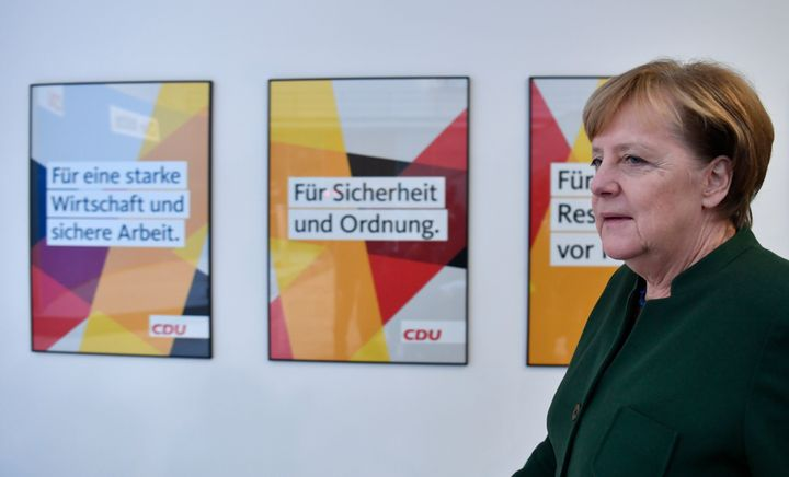 German Chancellor Angela Merkel has struggled to form a coalition government following her September election win.