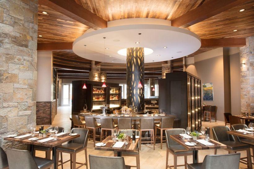Interior of Charlie Palmer Steak Napa