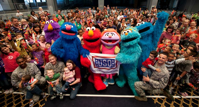 The Sesame Street USO Experience for Military Families