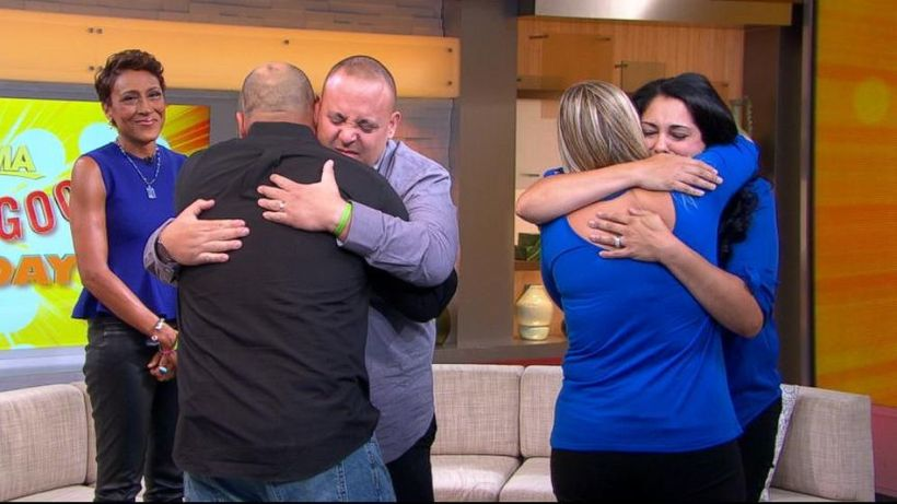 """You should absolutely watch this <a rel=""""nofollow"""" href=""""http://abcnews.go.com/GMA/video/boy-meets-bone-marrow-donor-saved-li"""