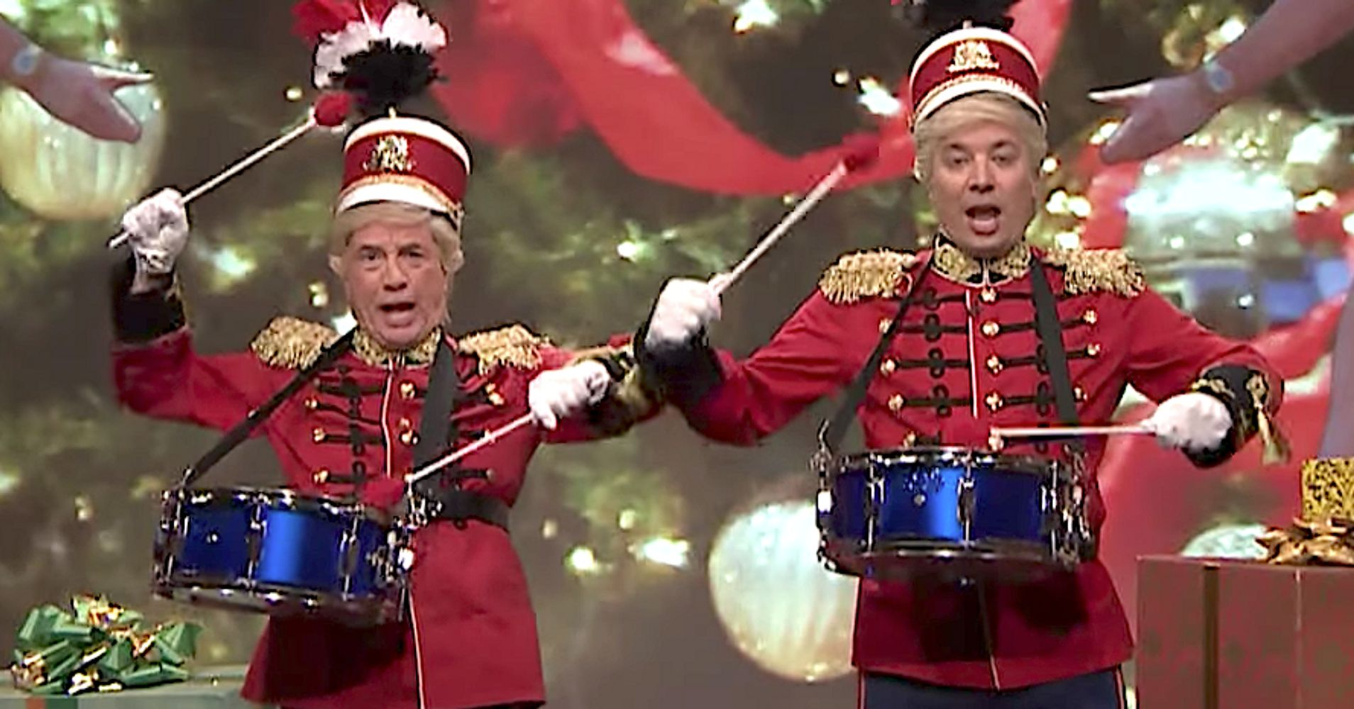 HuffPost: Jimmy Fallon And Martin Short Give Classic Christmas Song ...