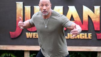 KAPOLEI, HI - NOVEMBER 27: Actor Dwayne 'The Rock' Johnson attends a photocall for Columbia Pictures' 'Jumanji: Welcome To The Jungle' at the Four Seasons Resort Oahu at Ko Olina on November 27, 2017 in Kapolei, Hawaii. (Photo by Darryl Oumi/Getty Images)