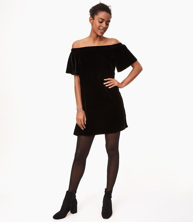 e8fc36cc69c2 Velvet Holiday Party Dresses That ll Have You Covered For Party ...