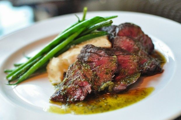 Filet mignon at Eleven Restaurant