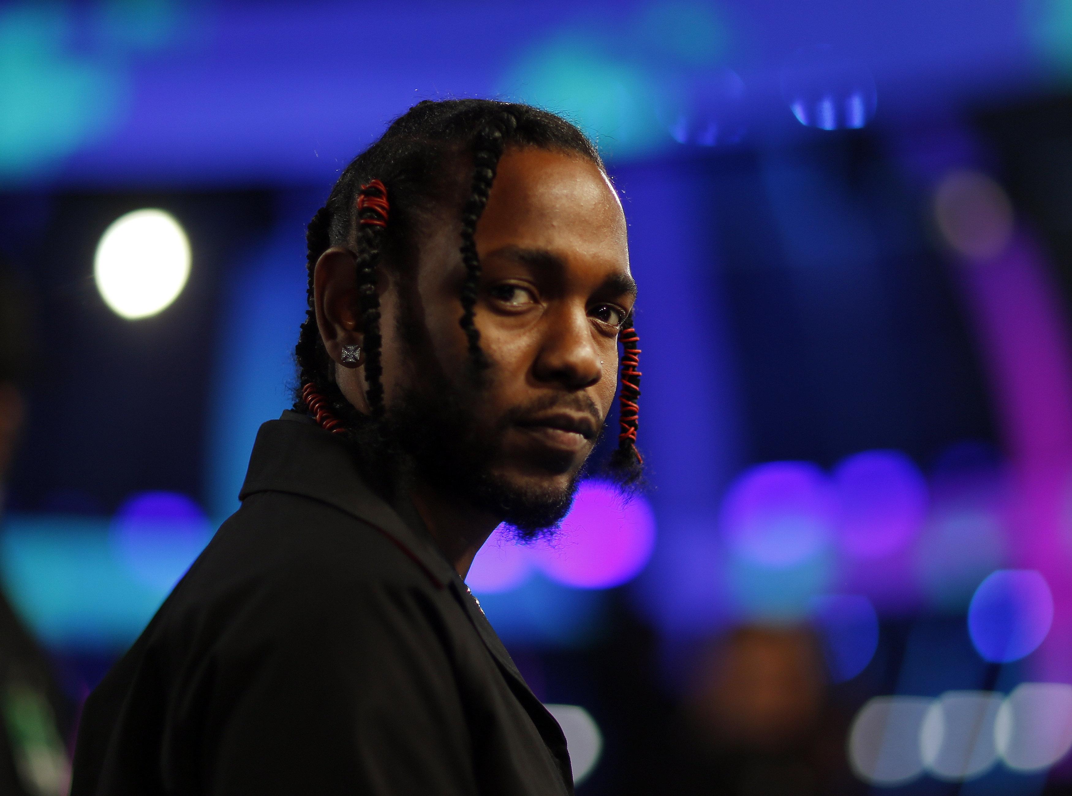 2017 MTV Video Music Awards – Arrivals – Inglewood, California, U.S., 27/08/2017 - Kendrick Lamar. REUTERS/Mario Anzuoni