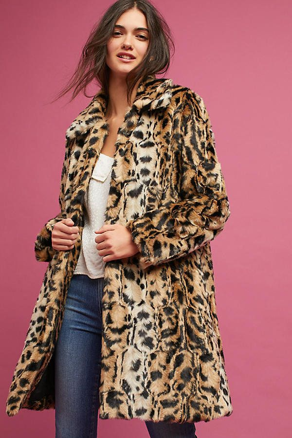 "Get it at <a href=""https://www.anthropologie.com/shop/leopard-print-coat?reviewPage=2"" target=""_blank"">Anthropologie, $248</a"