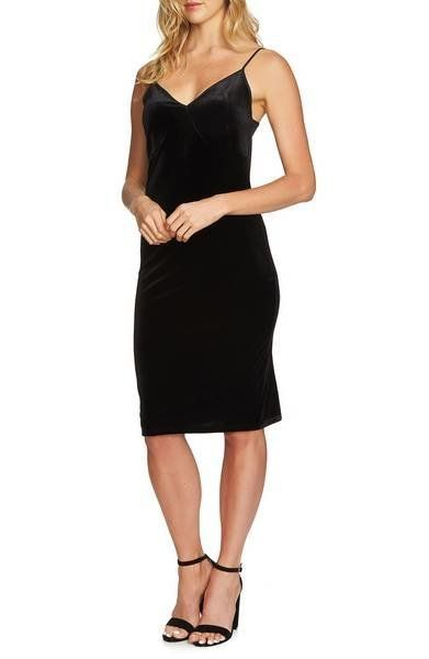 """You can't go wrong with an <a href=""""https://shop.nordstrom.com/s/1-state-velvet-slipdress/4785556?origin=keywordsearch-person"""