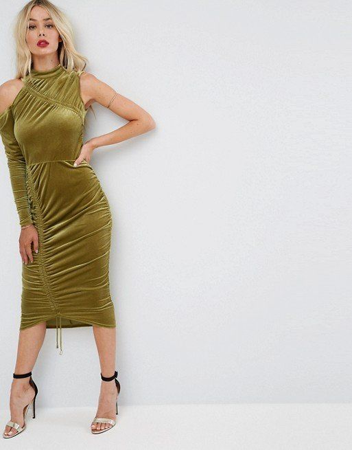"""We're here for anything that's chartreuse colored. It also helps that this <a href=""""http://us.asos.com/asos/asos-high-neck-ru"""