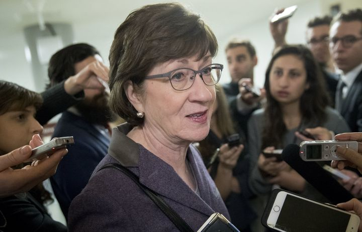 "Sen. Susan Collins (R-Maine) was sounding more optimistic about the tax reform bill on Tuesday, saying, ""I'm enco"