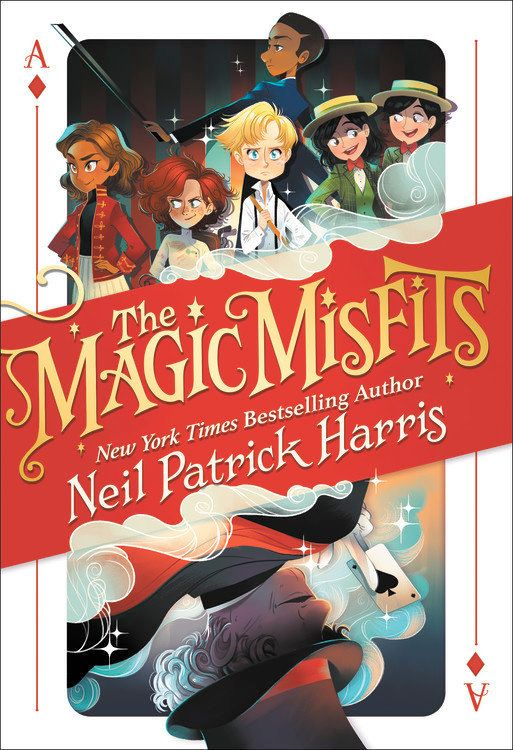 <i>The Magic Misfits</i> is the first installment in a four-part series by the same name.