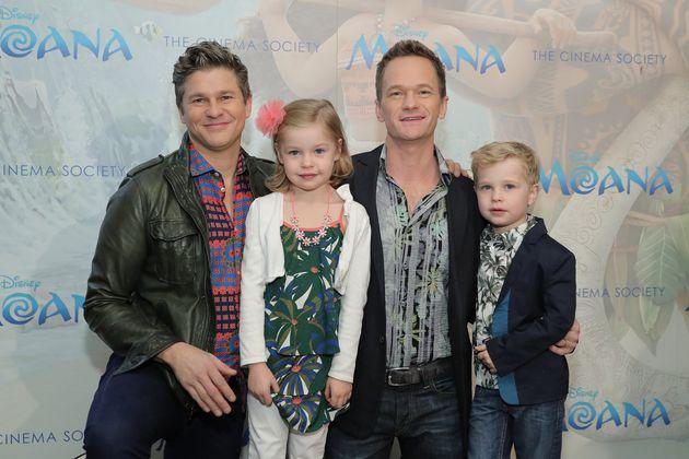 Harris and his husband, David Burtka, have 7-year-old twins,Gideon and