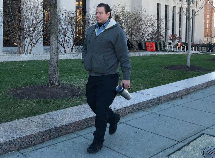 D.C. Metropolitan Police Department Officer Bryan Adelmeyer went undercover to investigate demonstrators organizing a protest against President Donald Trump's inauguration.