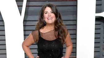 BEVERLY HILLS, CA - FEBRUARY 26:  Monica Lewinsky arrives for the Vanity Fair Oscar Party hosted by Graydon Carter at the Wallis Annenberg Center for the Performing Arts on February 26, 2017 in Beverly Hills, California.  (Photo by Karwai Tang/Getty Images)
