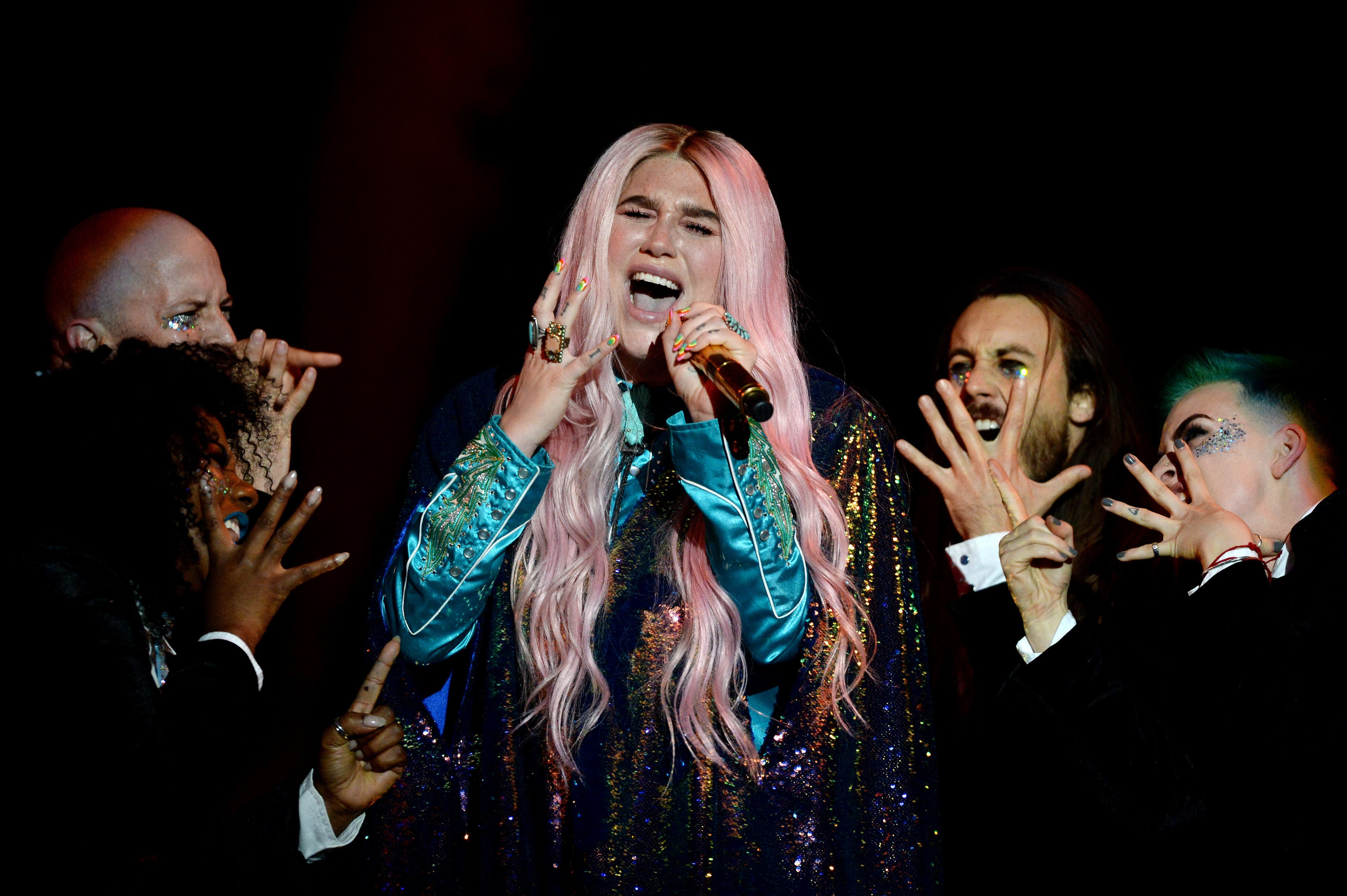 Kesha Nominated For First Grammys, Years After Accusing Producer Of Rape