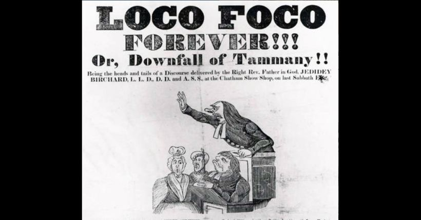 "The Loco-Foco Movement: The <strong>Locofocos</strong> (also Loco Focos, Loco-focos) were a faction of the <a rel=""nofollow"""