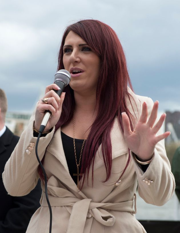 Jayda Fransen, deputy leader of Britain