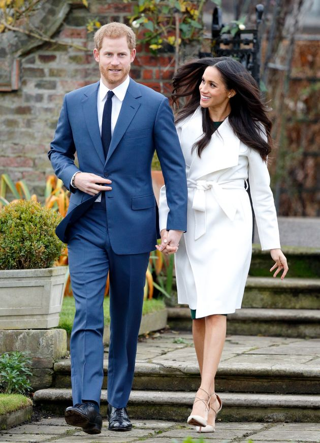 Can You Spot The Difference Between Meghan Markle's Engagement Outfit And Presenter Neev Spencer's Get