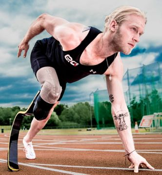 Paralympian Champion Jonnie Peacock On Going From Sprinting To