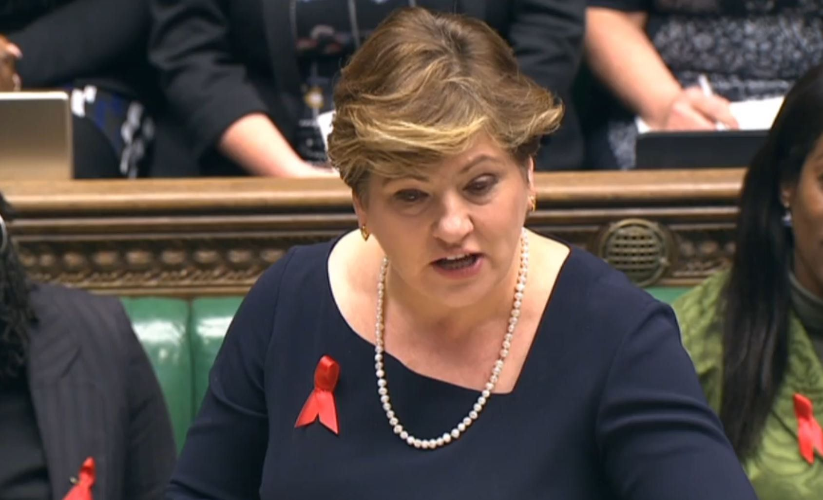 Emily Thornberry Jokes About Prince Harry Engagement In PMQs.