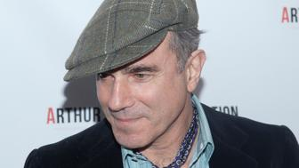 Daniel Day-Lewis attends the 'Arthur Miller - One Night 100 Years' benefit at the Lyceum Theatre in New York City. �� LAN (Photo by Lars Niki/Corbis via Getty Images)