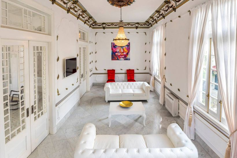 The Palacete del Vedado is a luxury private Airbrb in Havana.