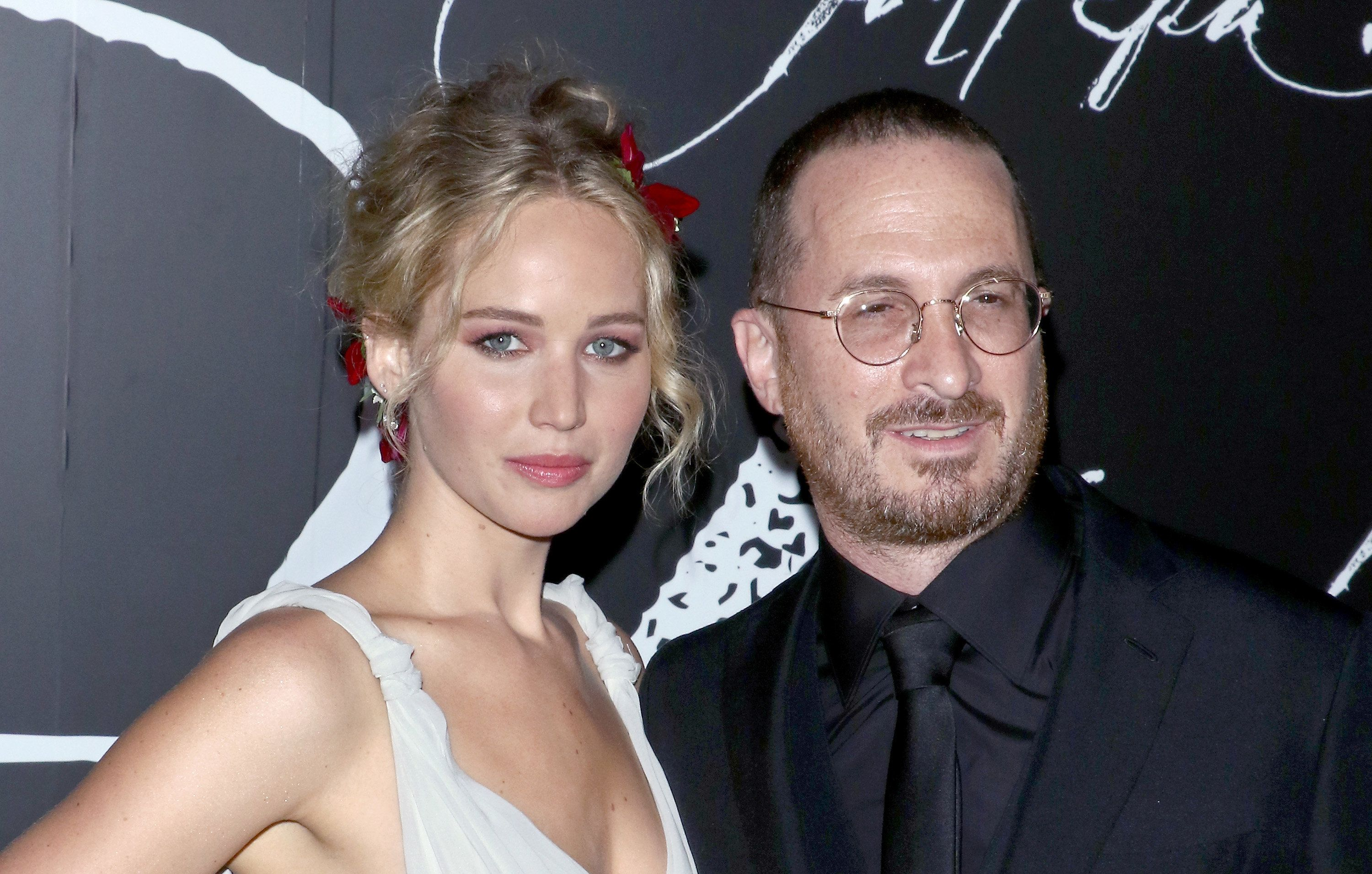 NEW YORK, NY - SEPTEMBER 13:  Actress Jennifer Lawrence and director Darren Aronofsky attend the 'mother!' New York premiere at Radio City Music Hall on September 13, 2017 in New York City.  (Photo by Jim Spellman/WireImage)
