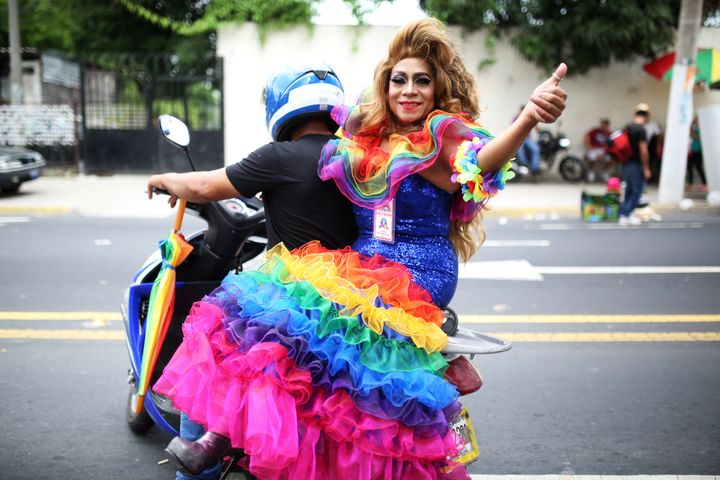 El Salvador and Honduras have some of the world's highest murder rates, and LGBT people are particularly vulnerable.&nb