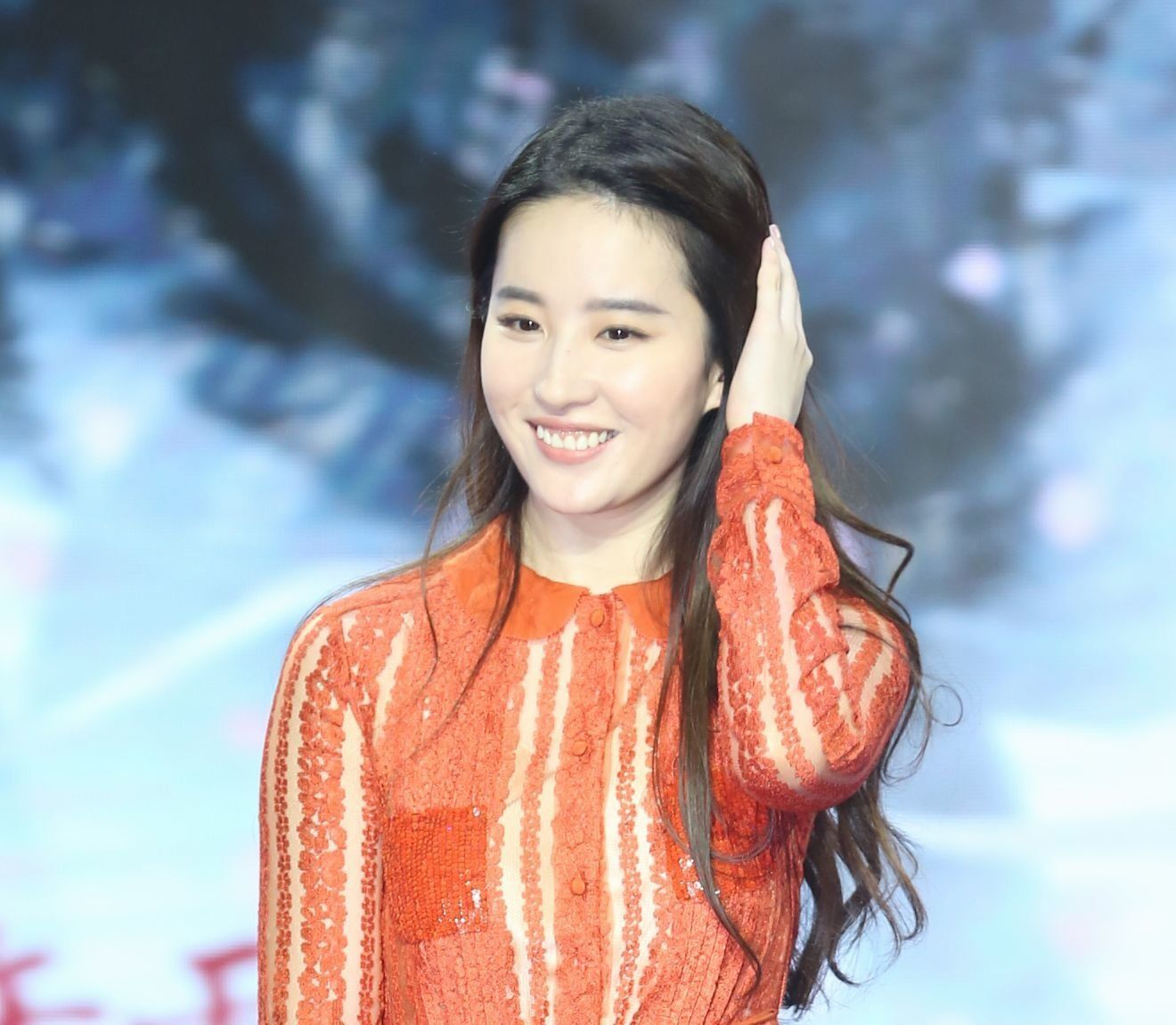 BEIJING, CHINA - AUGUST 03:  Actress Liu Yifei attends the press conference of film 'Once Upon a Time' on August 3, 2017 in Beijing, China.  (Photo by VCG/VCG via Getty Images)