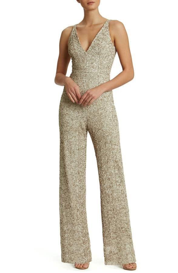 "Get it <a href=""https://shop.nordstrom.com/s/dress-the-population-charlie-sequin-jumpsuit/4447962?contextualcategoryid=237550"