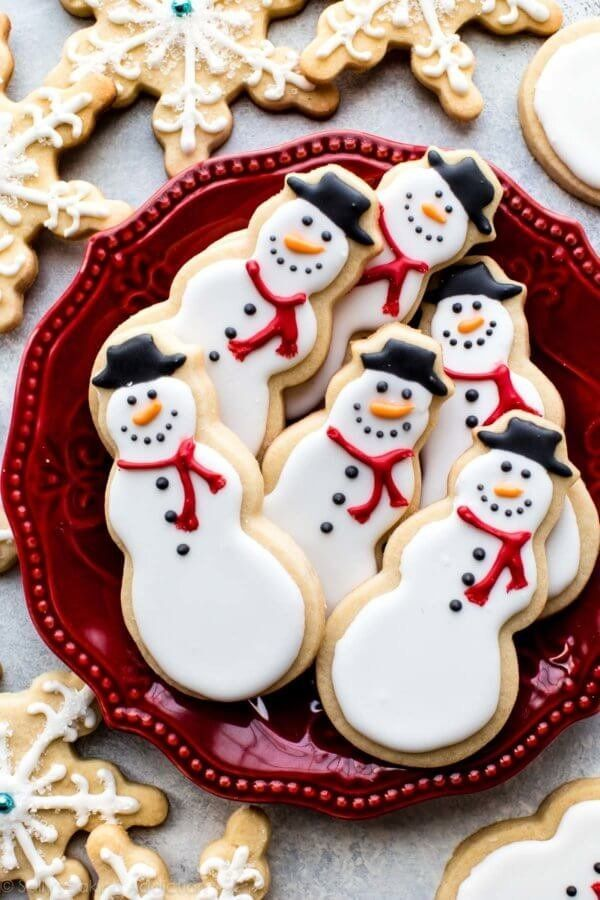 """""""Whenever I decorate sugar cookies, I always begin with a quality homemade sugar cookie recipe. A recipe that I can always de"""