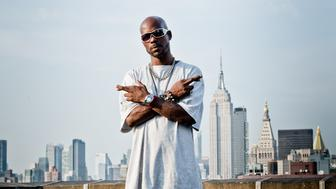 NEW YORK, NY - AUGUST 23: Rapper DMX poses for a portrait shoot on August 23, 2012 in New York City. (Photo by Noam Galai/Getty Images)