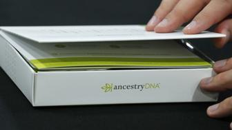 An attendee views an Ancestry.com Inc. DNA kit at the 2017 RootsTech Conference in Salt Lake City, Utah, U.S., on Thursday, Feb. 9, 2017. The four-day conference is a genealogy event focused on discovering and sharing family connections across generations through technology. Photographer: George Frey/Bloomberg via Getty Images