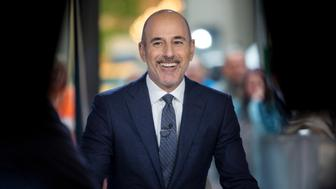 TODAY -- Pictured: Matt Lauer on Thursday Nov.16, 2017 -- (Photo by: Zach Pagano/NBC/NBCU Photo Bank via Getty Images)