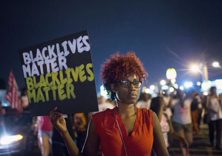 AnFBI document said it was concerned about protests that followed the 2014 killing of Michael Brown in Ferguson, Missou