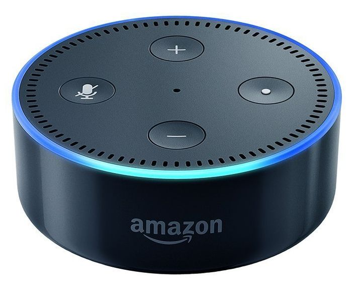 "Amazon Echo Dot,&nbsp;<a href=""https://www.amazon.com/Amazon-Echo-Dot-Portable-Bluetooth-Speaker-with-Alexa-Black/dp/B01DFKC2SO"" target=""_blank"">$29.99 at Amazon</a>"