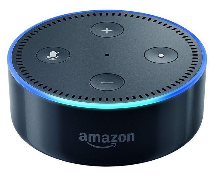 "Amazon Echo Dot,<a href=""https://www.amazon.com/Amazon-Echo-Dot-Portable-Bluetooth-Speaker-with-Alexa-Black/dp/B01DFKC2"