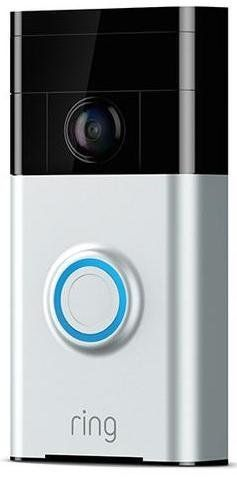 "Video doorbell, <a href=""https://shop.ring.com/collections/video-doorbells/products/video-doorbell?variant=56549589643"" target=""_blank"">$179 at Ring</a>"