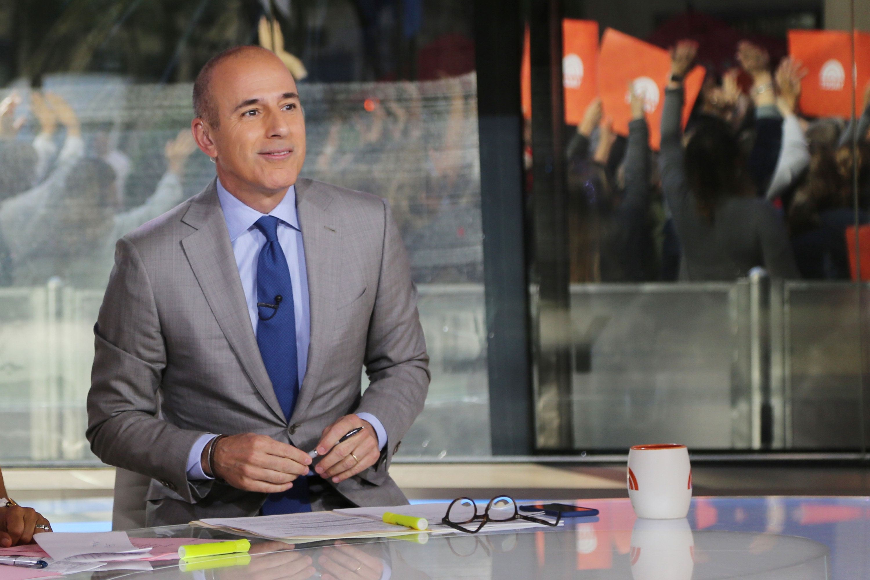 TODAY -- Pictured: Matt Lauer on Thursday, June 8, 2017 -- (Photo by: Zach Pagano/NBC/NBCU Photo Bank via Getty Images)